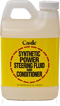 Castle synthetic power steering fluid for Castle honda service