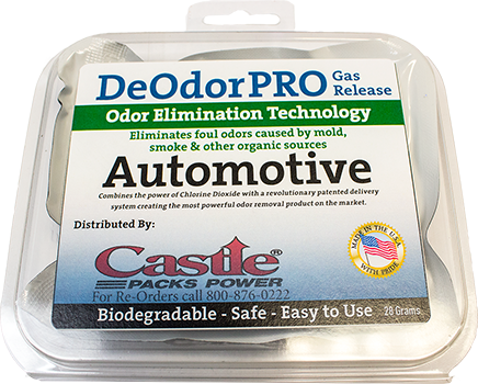 DeOdor PRO Gas Release Technology
